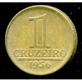 Moeda Brasil 1 Cruzeiro 1956 - Sob/ Fc - Frete Grátis- L.587