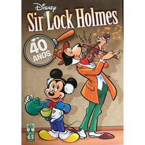Histórias Em Quadrinho, Sir Lock Holmes- Turma Do Mickey