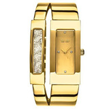 So Y Co New York Mujer 52522 Cuarzo Tono De Oro Rectangular