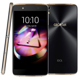 Alcatel Idol 4 Lite/dourado Mem 16gb 3gbs Flash 13mp 8mp 4g