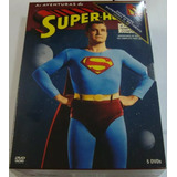 Box Original As Aventuras Do Superman - 1ª Temporada 5 Dvd