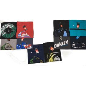 Kit 5 Camisas Oakley Quik Multi Marcas