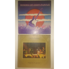 2 Capas De Lps Deep Purple Rock S/ O Disco Frete Grátis