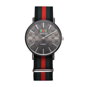 5113bc15530 Lindo Relógio Gucci Vermelho - Relógios no Mercado Livre Brasil