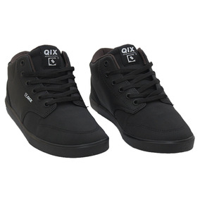 Tenis Masculino Qix Skate Base Mid Lifestyle Original Cores