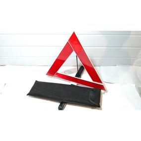 Triângulo De Segurança Com Bolsa Logo Da Toyota