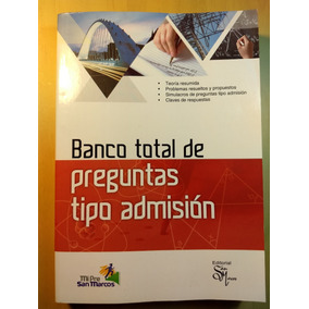 Ime Ita Peru San Marcos Banco De Preguntas Tipo Admissón