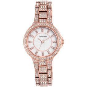 Reloj Armitron Para Mujer 75 5317mprg Brazalete Color Oro a2ac79298f64