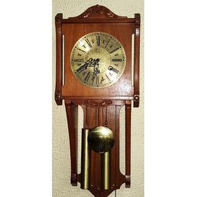 16c98c7541f Relógio Eska - A Corda - Relógios De Parede Antigos no Mercado Livre ...
