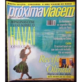 Revista Próxima Viagem 4 - Havaí Recife Olinda - Fev 2000