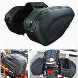 Alforjas Motocicleta Maletas Komine Universales Sidebag Moto