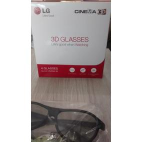 4 Óculos 3d Ag-f310 Lg Original Para Tv 3d