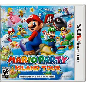 Mario Party Island Tour 3ds Novo Original Lacrado