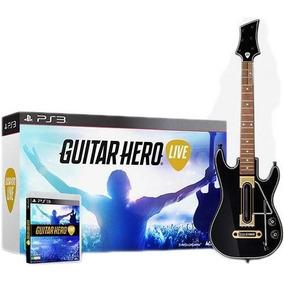 Guitar Hero Live Bundle Ps3 Novo Original Lacrado