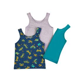 ¡oferta! 34770 Pack 3 Camisetas Niño Marca Ilusion Original