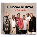 Cd Fundo De Quintal*/ So Felicidade