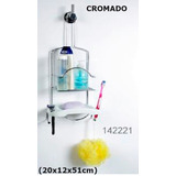 Organizador Baño Ducha Plastico en Mercado Libre Argentina c5f28efaa90b