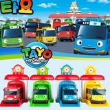 El Pequeño Autobús Tayo Set Garage 4 Buses