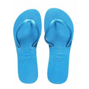 Havaianas Azules De Mujer Talla 25/26 Mx