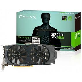 Placa De Video Geforce Galax Gtx 1060 6gb Exoc Gddr5 Dual