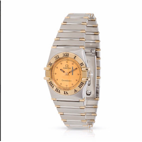 Reloj Dama Omega Constellation Original Acero/oro
