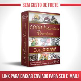 Vetores Para Corel Draw 1000 Estampas Sublimação