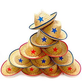 3780b5c19c3f0 Docenas De Paja Sombreros De Vaquero Para Niños - Hace Que