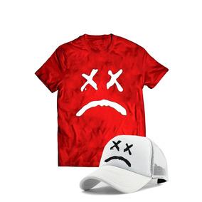 Kit Camiseta+bone Lil Peep Show Carinha Forca Cry Baby Liil · 4 cores 70e4ceae19aa5