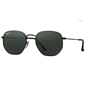 a50b639334a62 Óculos De Sol Ray Ban Rb3548 Hexagonal Preto Vidro - Óculos no ...