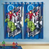 Cortina Infantil P/varão Avengers Vingadores 3,00m X 1,80m