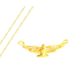 Pingente Pomba Da Paz Em Ouro - Pingentes de Ouro no Mercado Livre ... 8665b3e64f