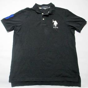 Chomba Polo Assn Talle Xl Negra De Pique 90649d2ae00f1