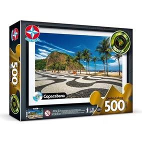 Quebra-cabeça Puzzle Copacabana 500 Peças - Estrela Original