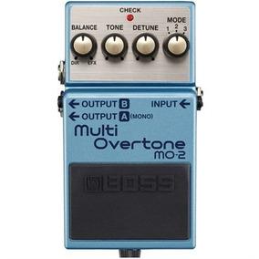 Pedal Mult Overtone Para Guitarra Mo-2 - Boss