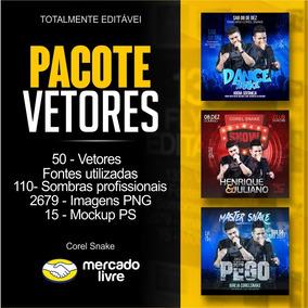 ( 02 ) Pacote De Vetor Para Instagram // Corel Snake
