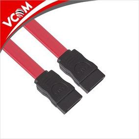 Cable Sata Datos Vcom 45 Cm Color Rojo