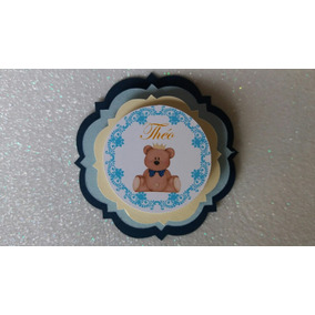 Tag 3d Luxo Urso Príncipe 20 Un