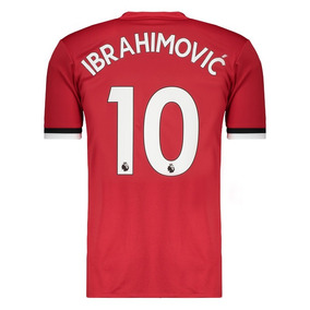 Camisa adidas Manchester United Home 2018 10 Ibrahimovic 1d7f010e00114