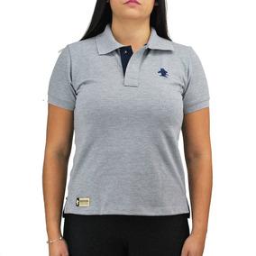 Camiseta Polo Feminina Sacudido 85ed741b57b17