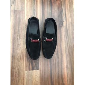 684fb9ad1 Zapatos De Gamuza Para Hombre Negros Gucci - Zapatos en Mercado Libre México
