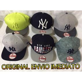 Bone Ny Original Americano Aba Reta Varias Cores 72ad602e7da