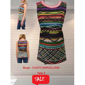 Blusa Custo Barcelona Multicolor