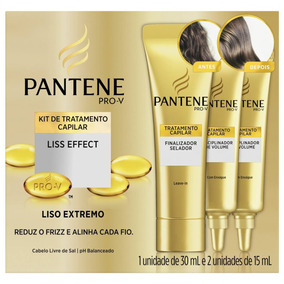 Kit Liss Effect Pantene - 60ml