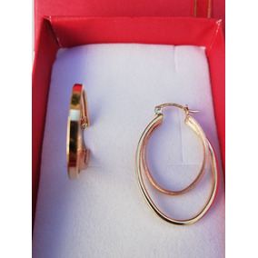 8b1bf7f9416c Arracadas Oro De 14k Mujer - Joyas y Relojes en Mercado Libre México