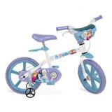 Bicicleta 14 Frozen Disney Bandeirante Promoção