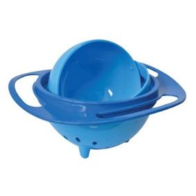 Prato 360 Giratório Infantil Não Deixa Alimento Cair No Chão