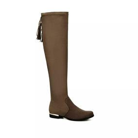 8f3f36d4 Over Knee Boots - Zapatos Gris oscuro en Mercado Libre México