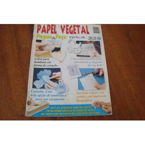 Lra Pegue E Faça 4 / Papel Vegetal Caixa Cestinha Cartao