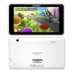 Tablet Hyundai T7433l Branco Promocao