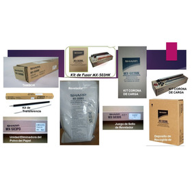 Kit De Mantenimeinto Sharp Mx-m453 - Mx-503 Mx-363 Mx-283